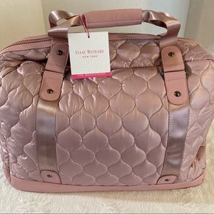 Isaac mizrahi new york weekender bag pink new